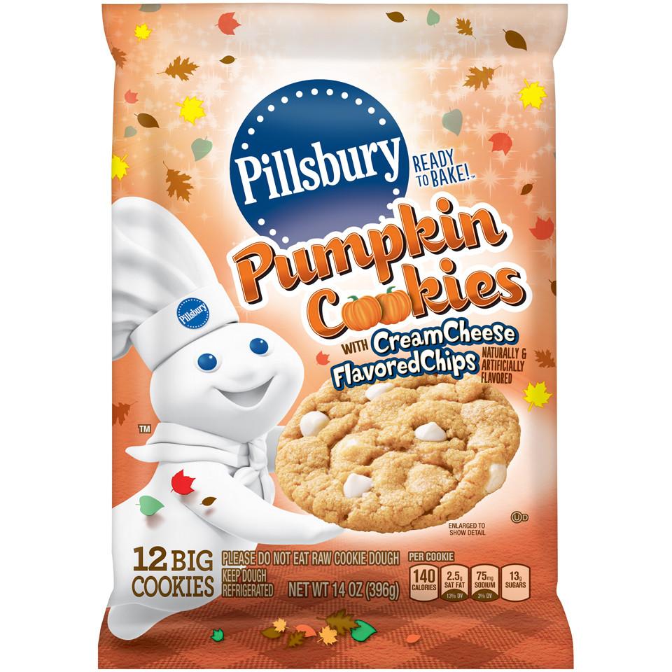 Pillsbury Pumpkin Cookies  All Pumpkin Spice Everything King Kullen