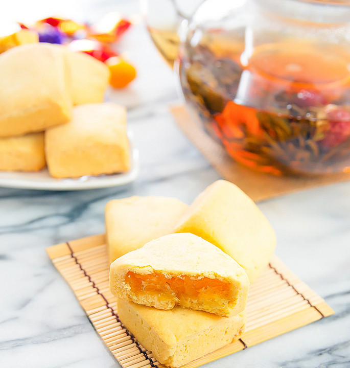 Pineapple Cake Taiwan  Taiwanese Chinese Pineapple Cakes Kirbie s Cravings