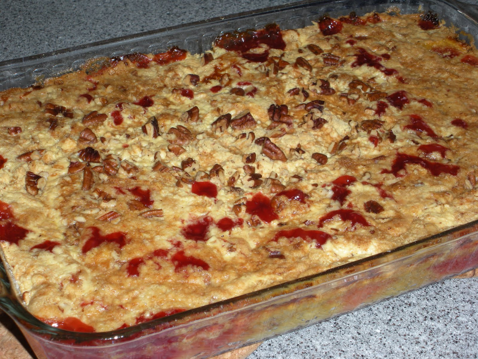 Pineapple Dump Cake  NOT A REAL HOUSEWIFE Cherry Pineapple Dump Cake