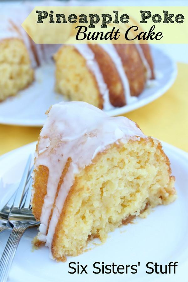 Pineapple Poke Cake  Pineapple Poke Bundt Cake Recipe