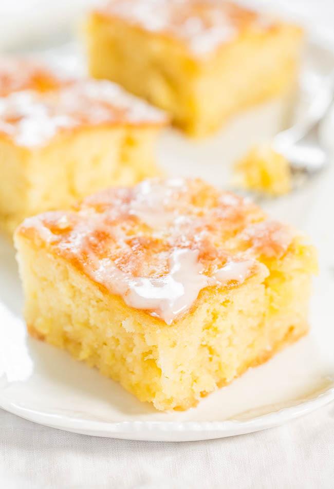 Pineapple Poke Cake  Poke Cake Recipes You ll Love Eighteen25