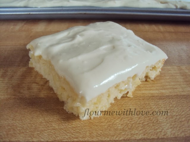 Pineapple Sheet Cake  Flour Me With Love Pineapple Sheet Cake
