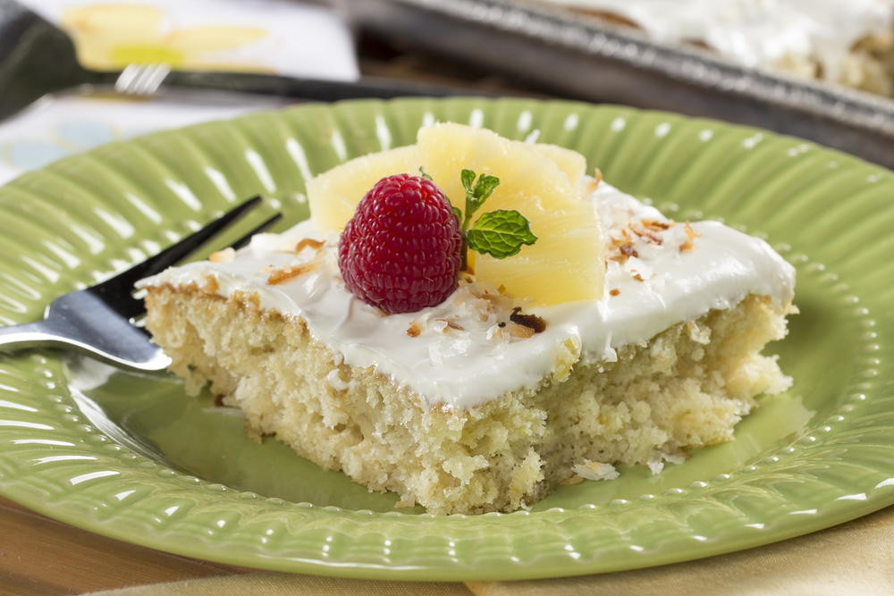 Pineapple Sheet Cake  Crazy Good Pineapple Sheet Cake