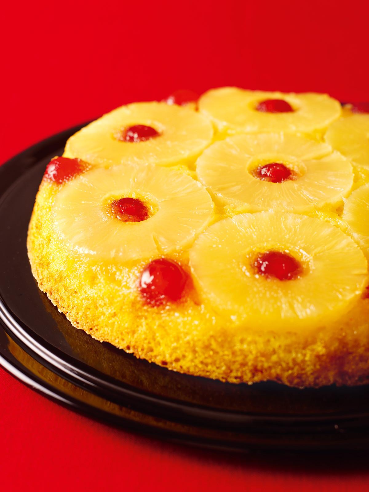 Pineapple Upside Cake  Pineapple Upside Down Cake Nigella s Recipes