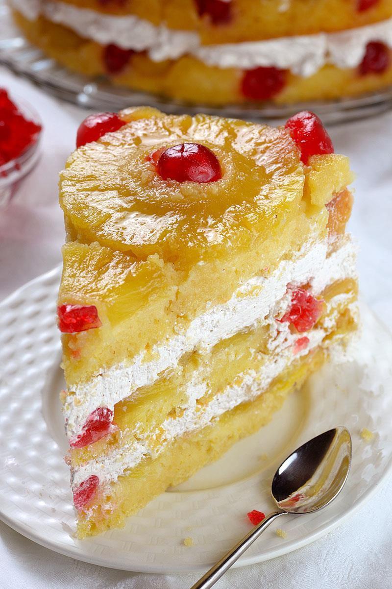 Pineapple Upside Cake  Pineapple Upside Down Cake OMG Chocolate Desserts