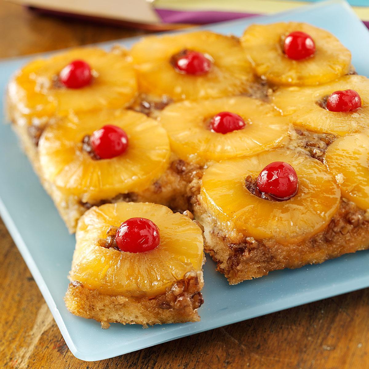 Pineapple Upside Cake  Classic Pineapple Upside Down Cake Recipe