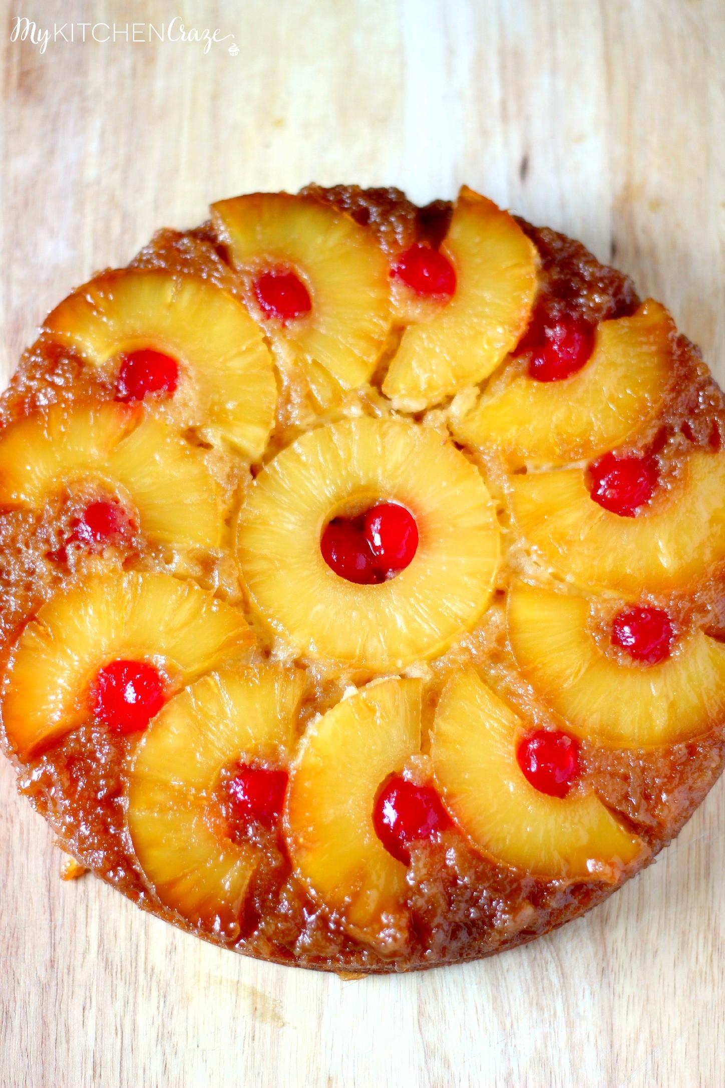 Pineapple Upside Cake  Pineapple Upside Down Cake My Kitchen Craze