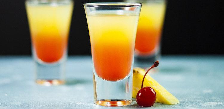 Pineapple Upside Down Cake Drink  Pineapple Upside Down Cake Shot Recipe & Video