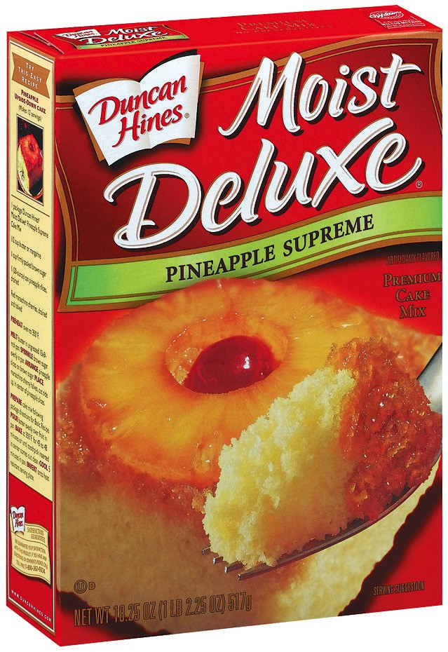 Pineapple Upside Down Cake Duncan Hines  Duncan Hines Pineapple Deluxe Cake Mix Do Not Follow