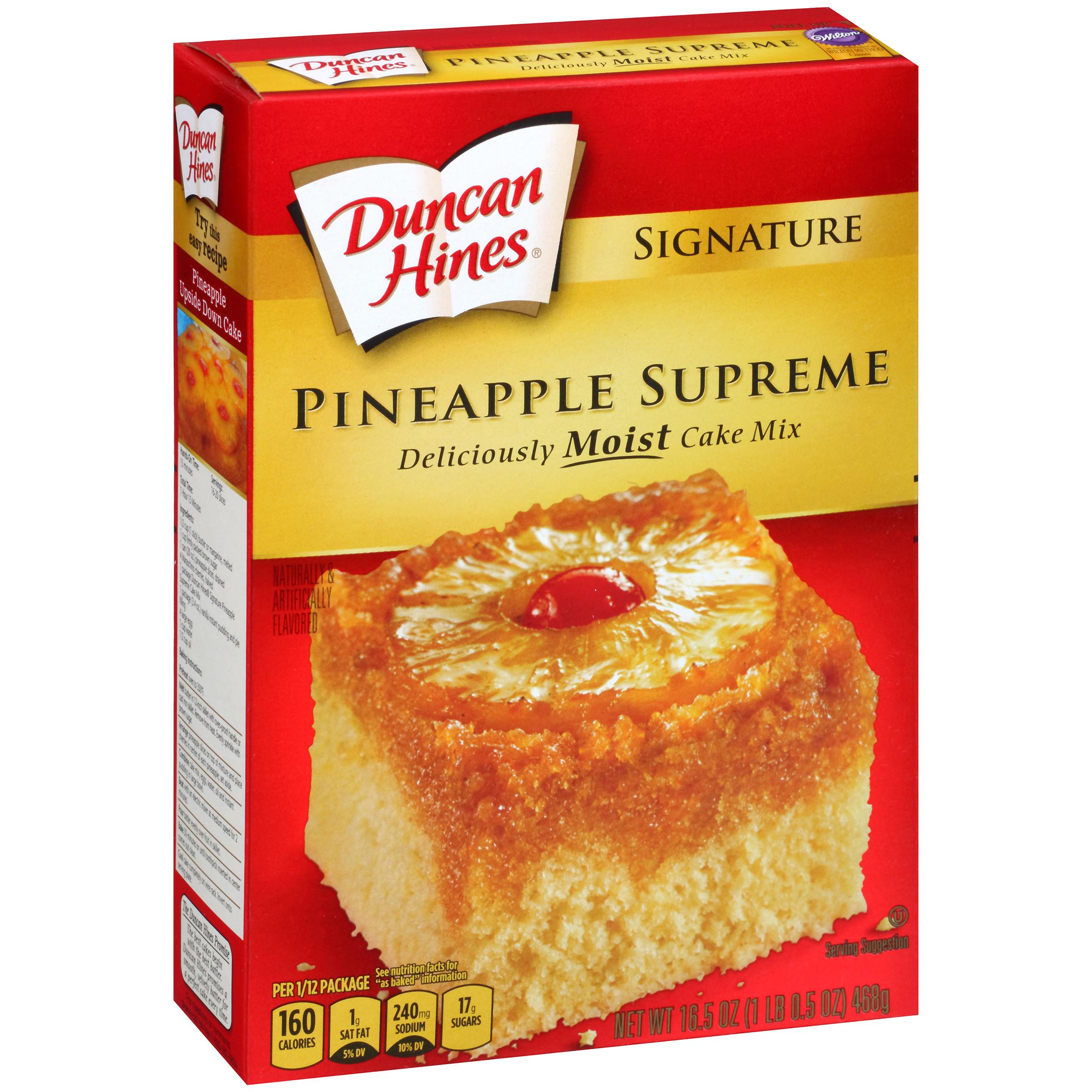 Pineapple Upside Down Cake Duncan Hines  duncan hines carrot cake supreme