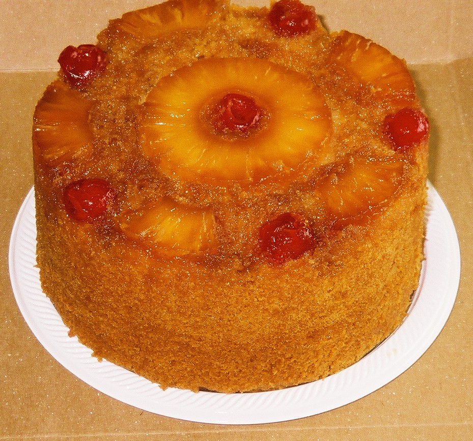 Pineapple Upside Down Cake Recipe  COOK RECIPES