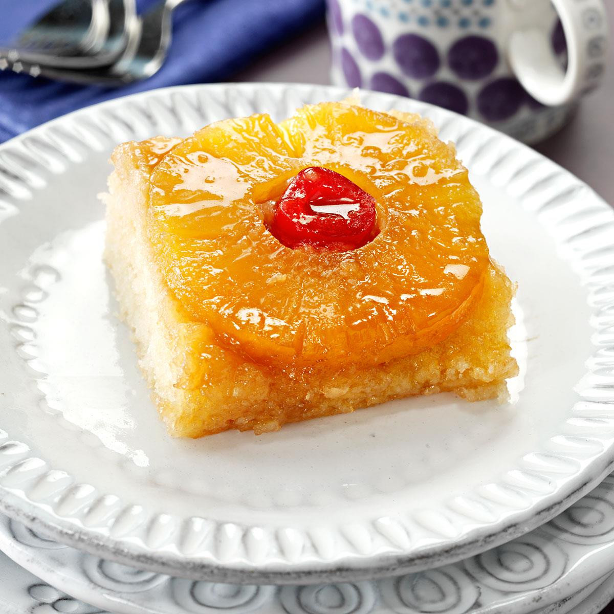 Pineapple Upside Down Cake Recipe  Makeover Pineapple Upside Down Cake Recipe