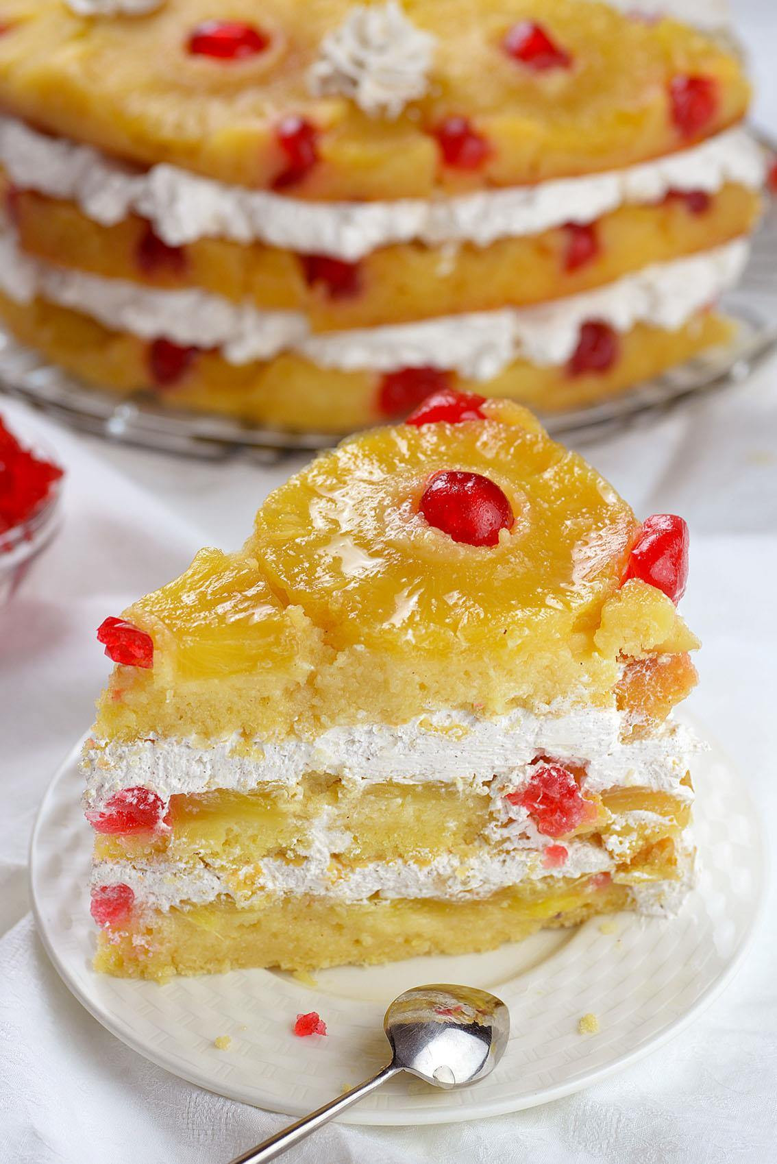 Pineapple Upside Down Cake Recipe  Pineapple Upside Down Cake