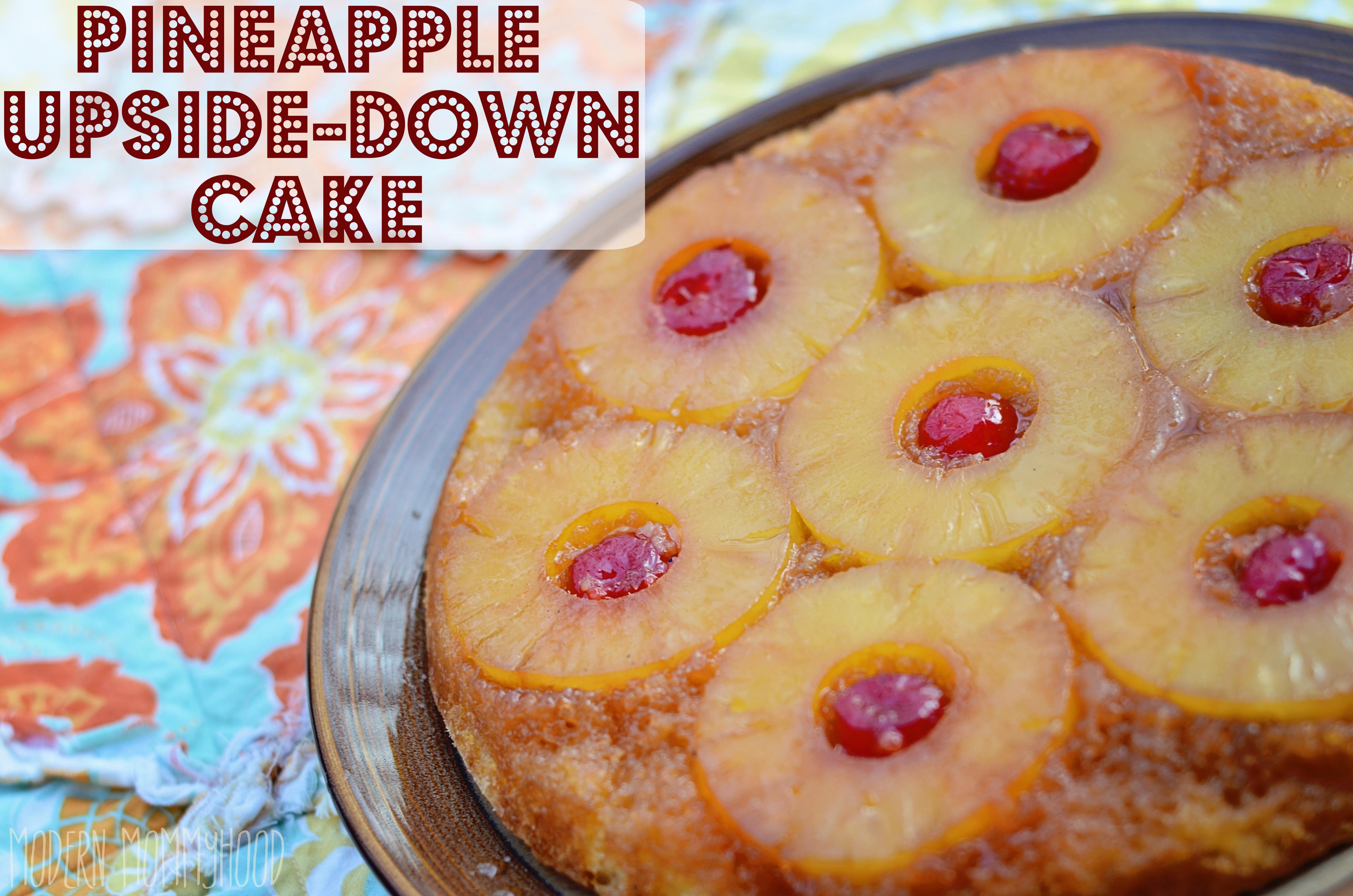 Pineapple Upside Down Cake Recipe  Pineapple Upside Down Cake Modernly Morgan