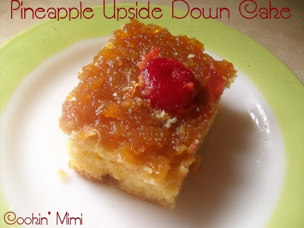 Pineapple Upside Down Cake Using Cake Mix And Crushed Pineapple  Pineapple Upside Down Cake