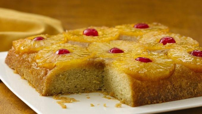 Pineapple Upside Down Cake Using Cake Mix And Crushed Pineapple  Gluten Free Pineapple Upside Down Cake recipe from