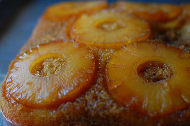 Pineapple Upside Down Cake Using Cake Mix  Easy Pineapple Upside Down Cake Recipe Food