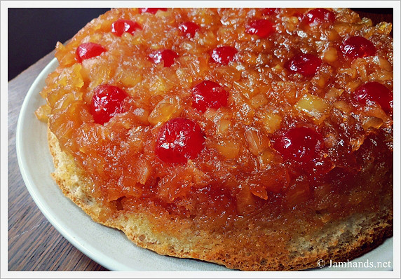 Pineapple Upside Down Cake With Crushed Pineapple  Jam Hands Pineapple Upside Down Skillet Cake