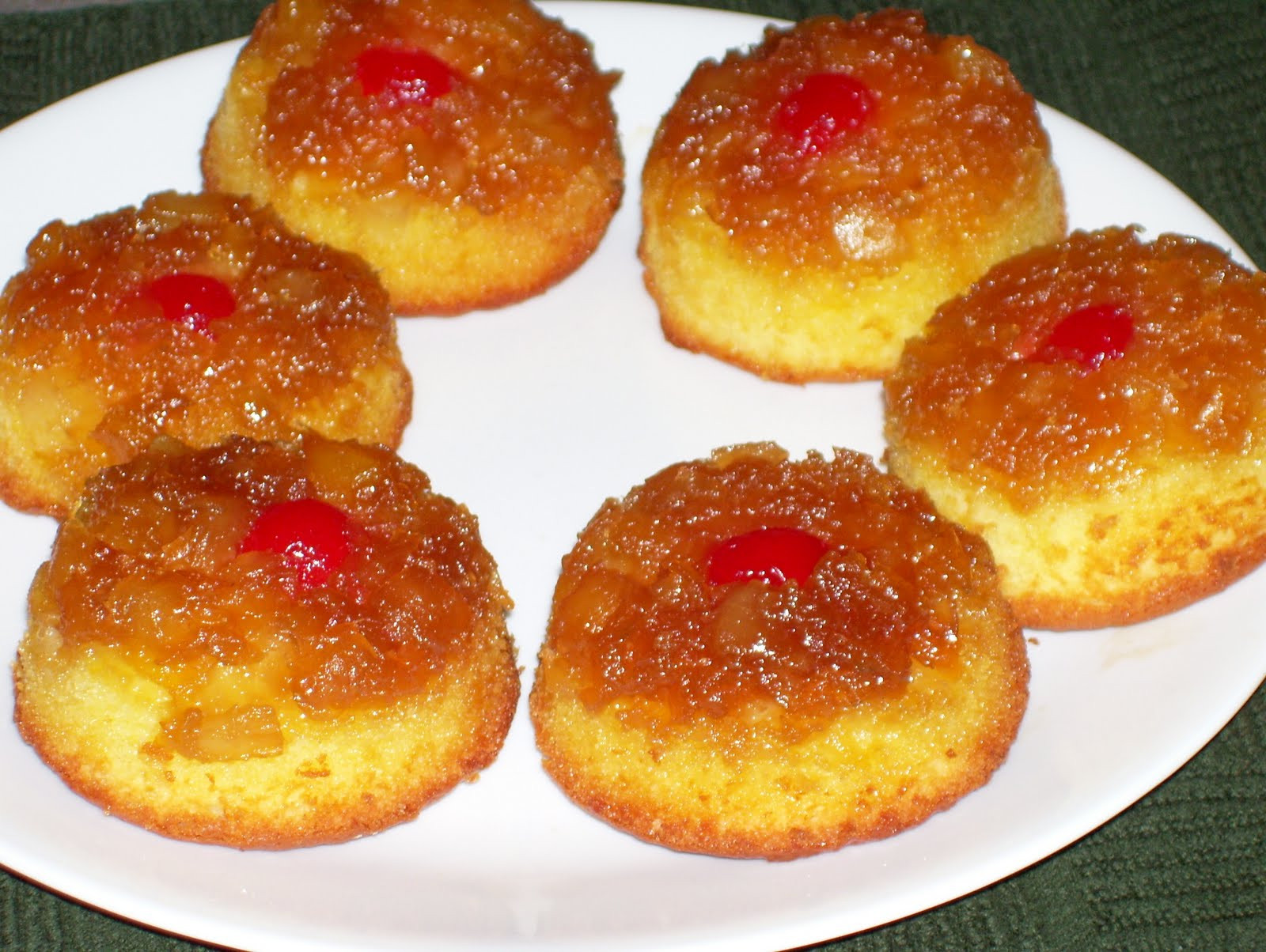 Pineapple Upside Down Cake With Crushed Pineapple  Pineapple Upside Down Cakes BigOven