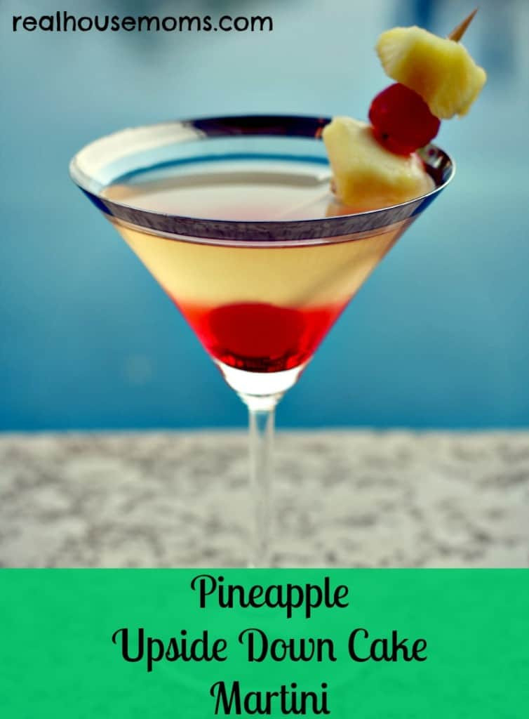 Pineapple Upsidedown Cake Martini  Pineapple Upside Down Cake Martini
