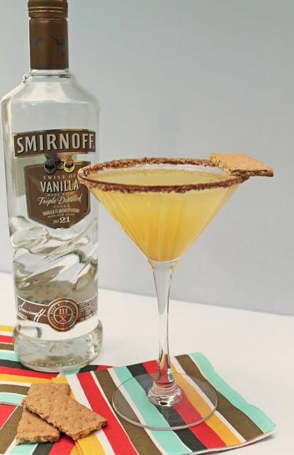 Pineapple Upsidedown Cake Martini  Time to Sparkle Link Party 10 Love Grows Wild