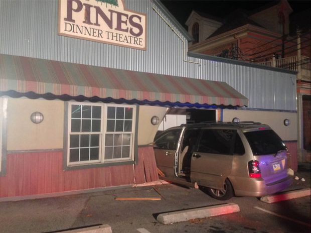 Pines Dinner Theatre  Pines Dinner Theatre donates food for 500 after accident