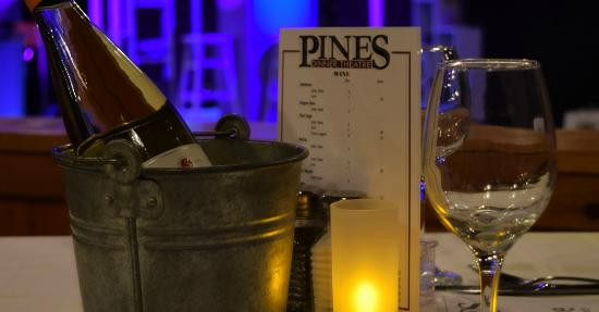 Pines Dinner Theatre  Perfect for a romantic evening Picture of Pines Dinner