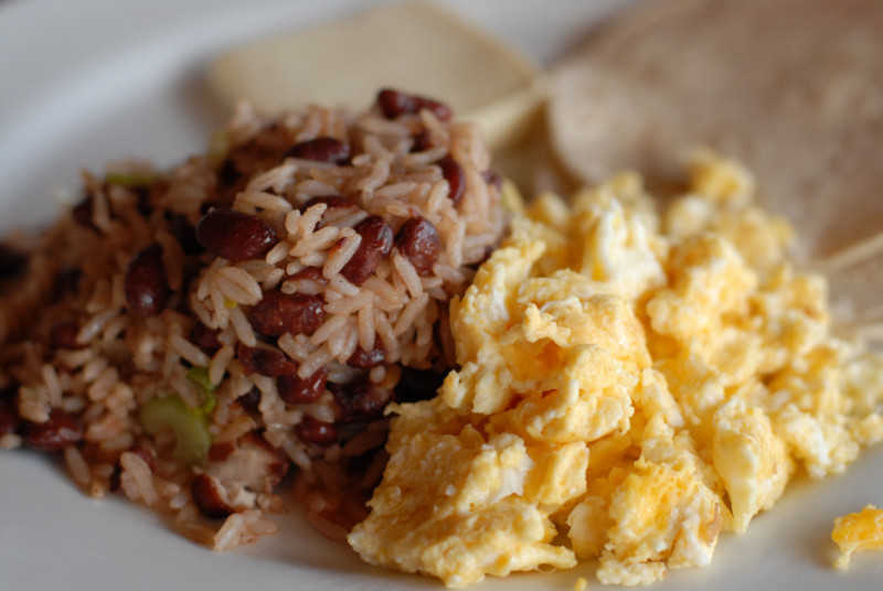 Pinto Beans And Rice  Costa Rican Gallo Pinto beans and rice recipe