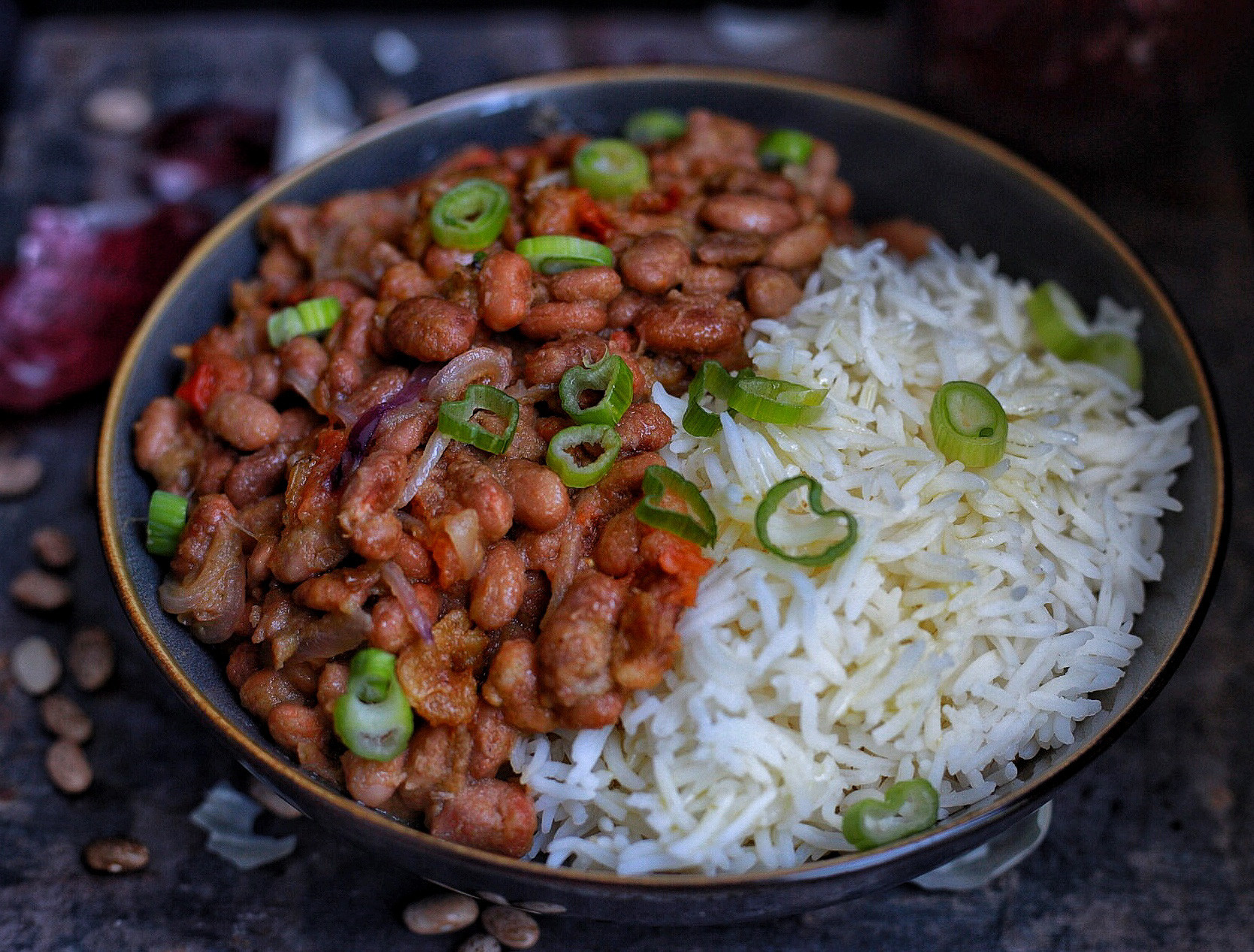 Pinto Beans And Rice  African Stewed pinto beans with rice Afrovitalityeats