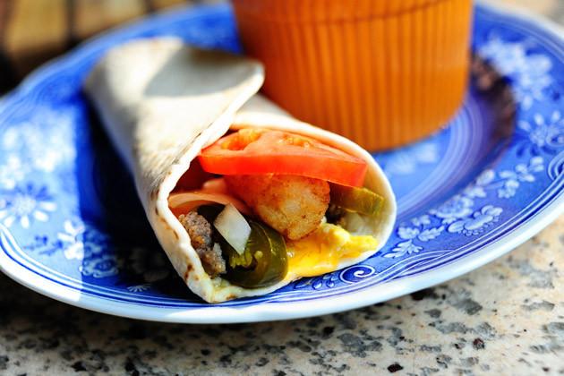 Pioneer Woman Breakfast Burritos  SuperSonic Breakfast Burrito