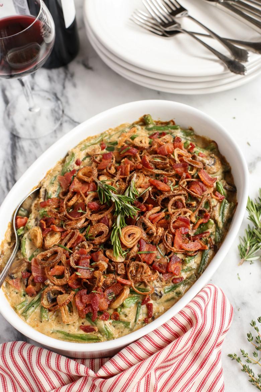 Pioneer Woman Green Bean Casserole  Thanksgiving Dinner Green Bean Casserole
