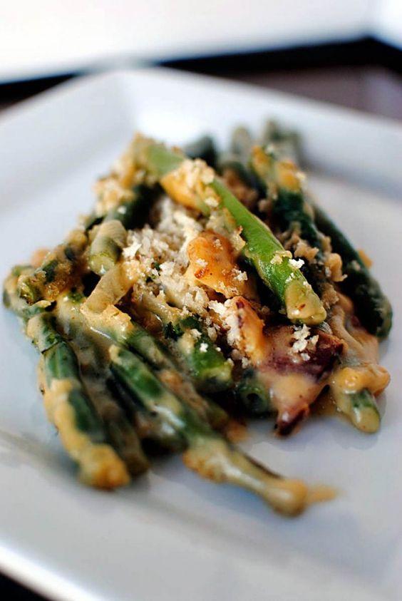 Pioneer Woman Green Bean Casserole  Thanksgiving Bacon and Casseroles on Pinterest