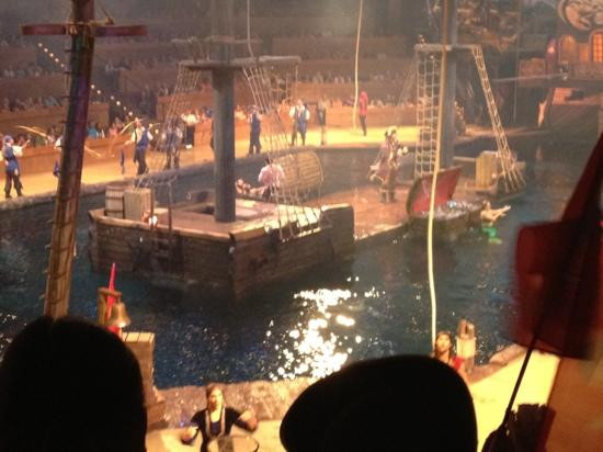 Pirate Dinner Myrtle Beach  Great setup Picture of Pirates Voyage Myrtle Beach