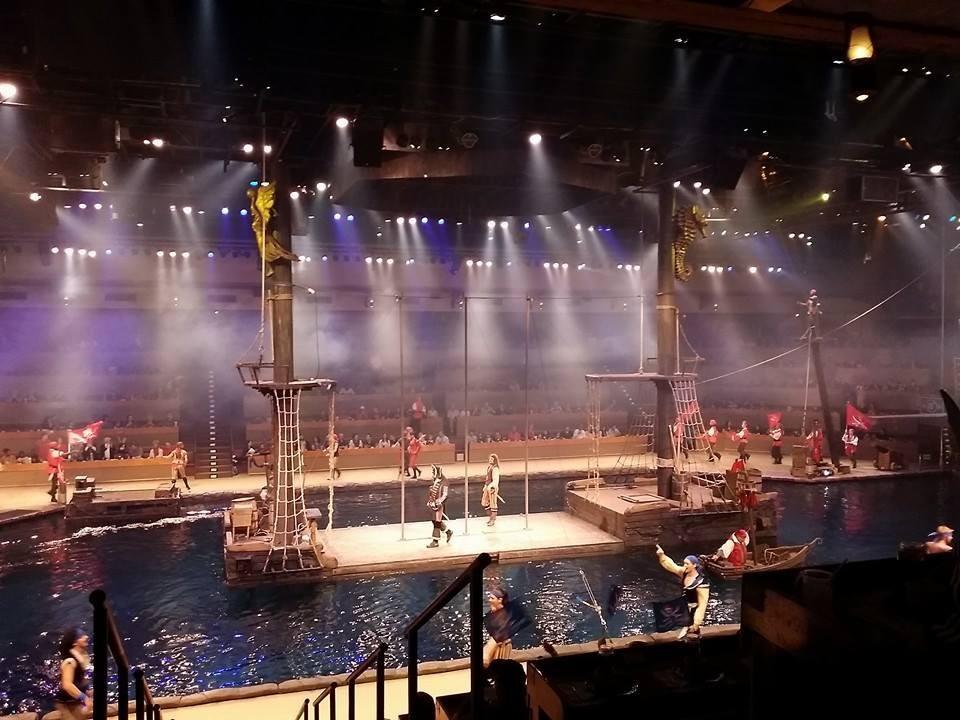 Pirate Dinner Myrtle Beach  Pirates Voyage hires Swordfighting Lead Actor in Myrtle