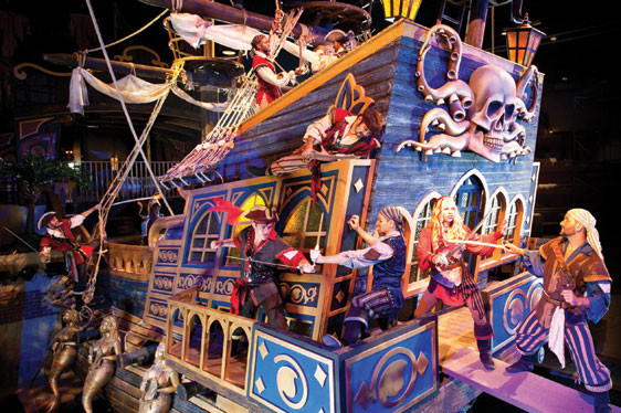 Pirate Dinner Show Myrtle Beach  Pirates Voyage Beach Cove Resort