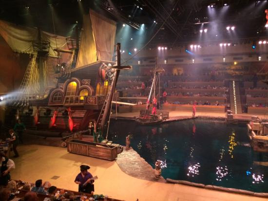 Pirate Dinner Show Myrtle Beach  The pirate venue Picture of Pirates Voyage Myrtle Beach