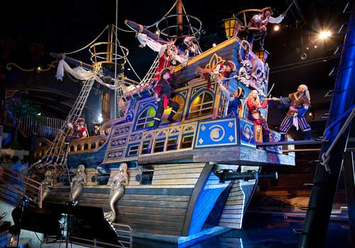 Pirate Dinner Show Myrtle Beach  Pirates Voyage Dinner & Show Sandy Paws Retreats