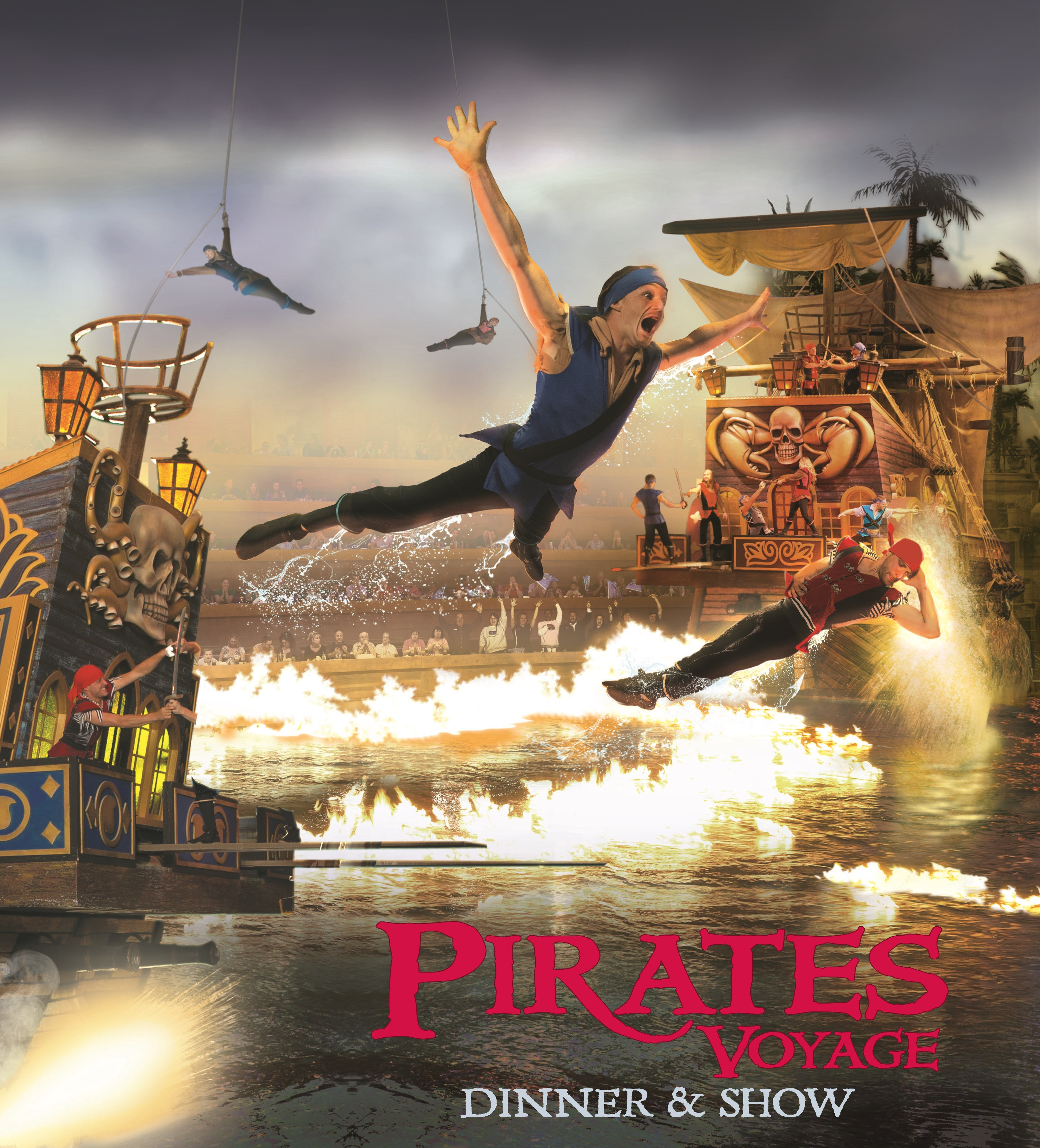 Pirate Dinner Show Myrtle Beach  Pirates Voyage in Myrtle Beach South Carolina Food Fun