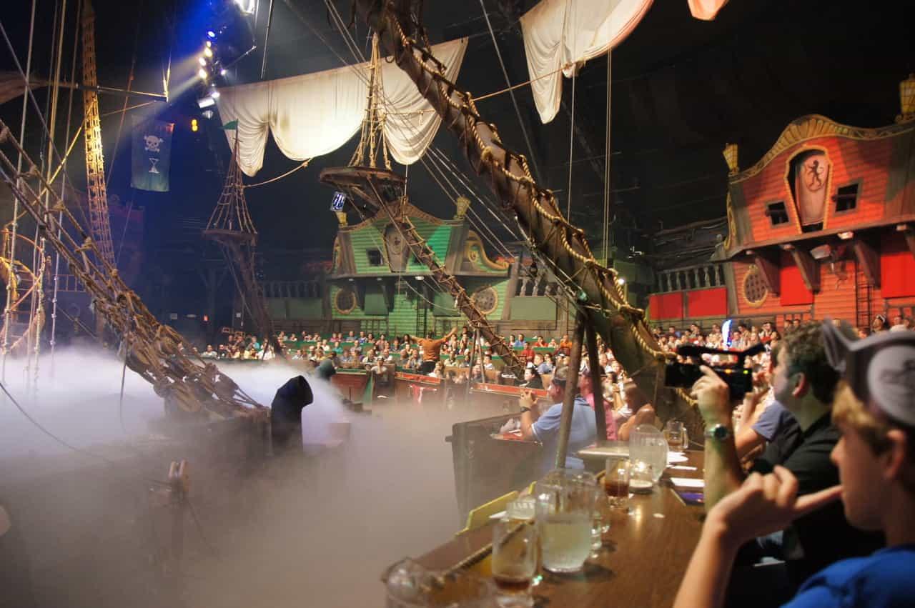 Pirates Dinner Adventure Orlando  Pirate s Dinner Adventure is closed indefinitely due to