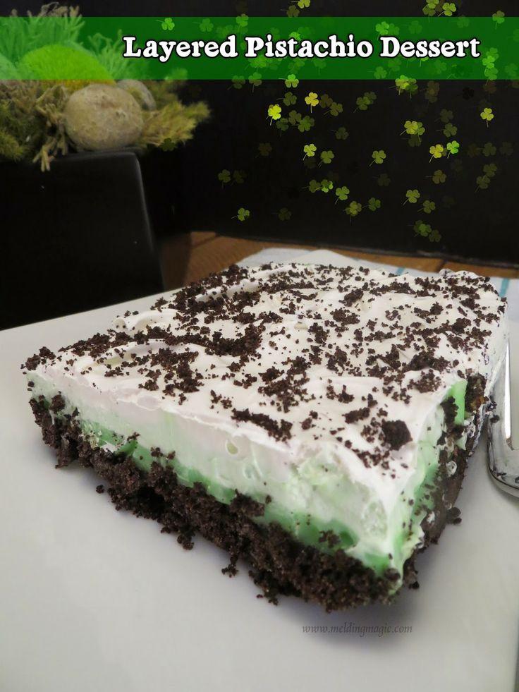 Pistachio Dessert Recipes  81 best Pudding Desserts Bread Layered & Rice & Brulee