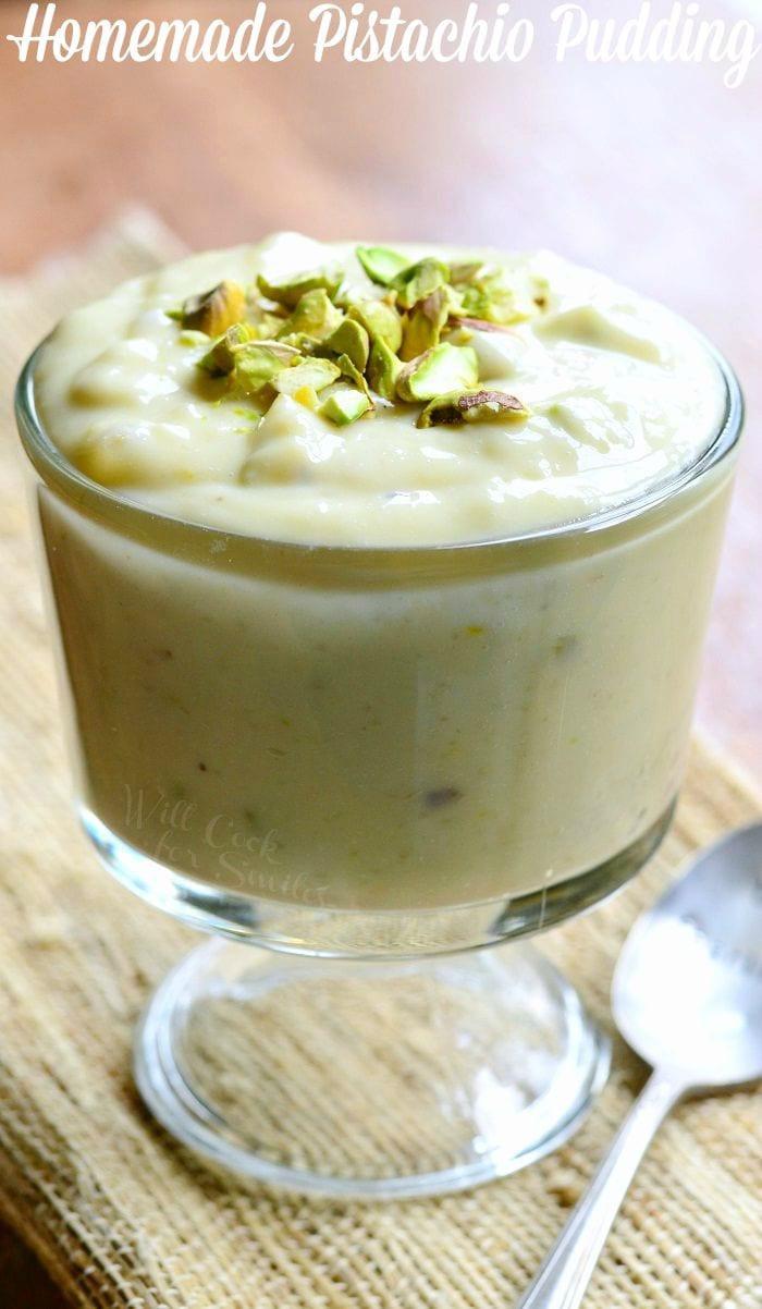 Pistachio Pudding Dessert  Homemade Pistachio Pudding Will Cook For Smiles