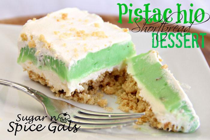 Pistachio Pudding Dessert  Pistachio Shortbread Dessert Sugar n Spice Gals