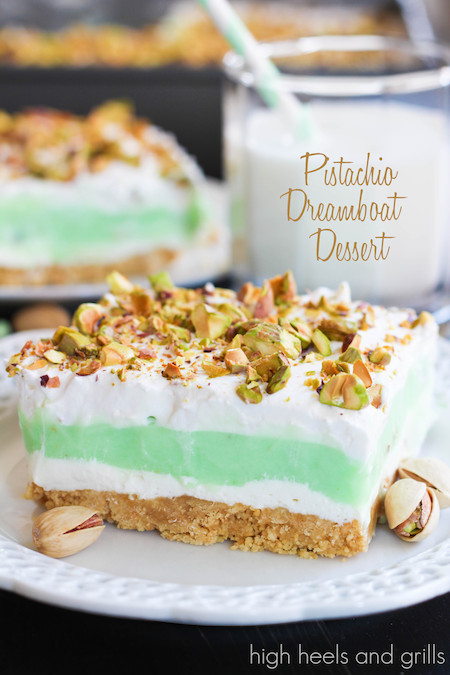 Pistachio Pudding Dessert  Vanilla Dreamboat Dessert