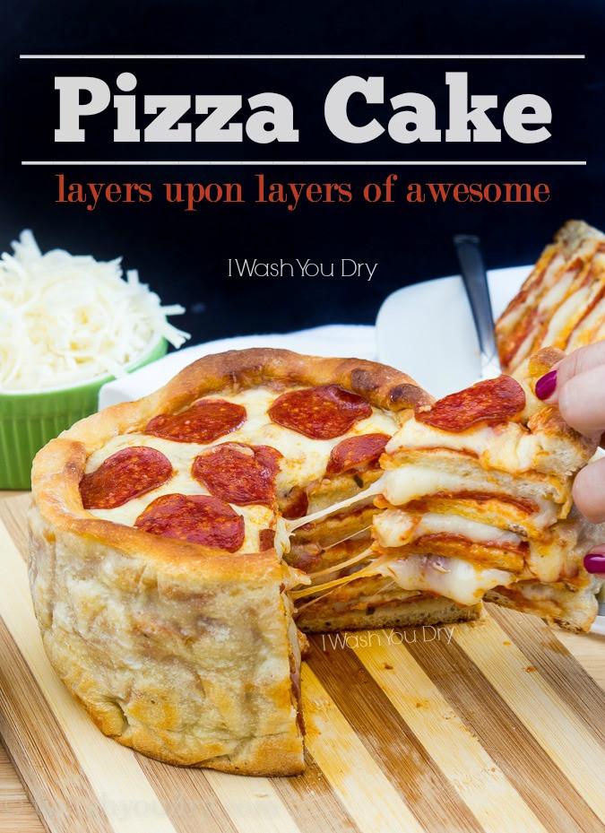 Pizza Cake Recipe  The Pizza Cake