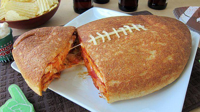 Pizza Cake Recipe  Football Pizza Cake recipe from Tablespoon