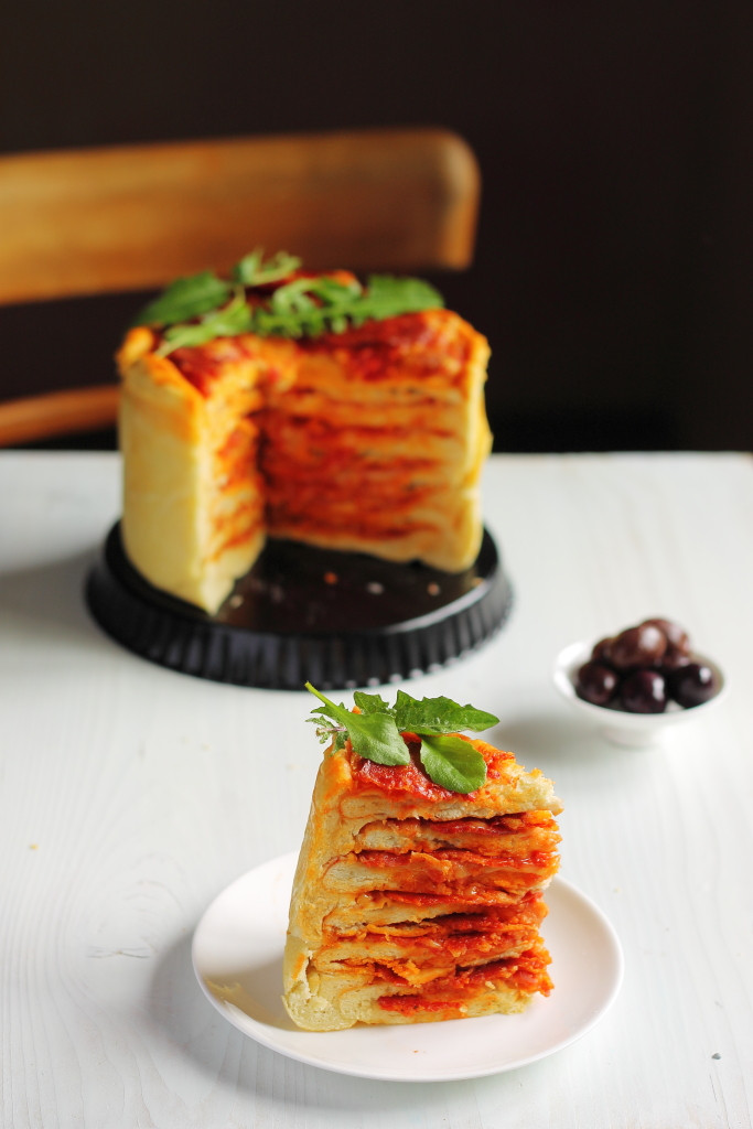 Pizza Cake Recipe  The Pizza Cake Recipe You Will Never Look at Pizza the