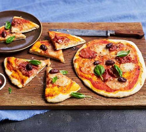 Pizza Dough Calculator  No yeast pizza dough recipe