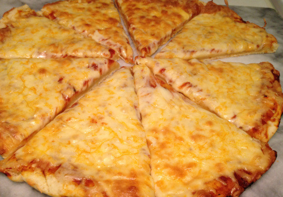 Pizza Dough No Yeast  pizza dough with baking powder