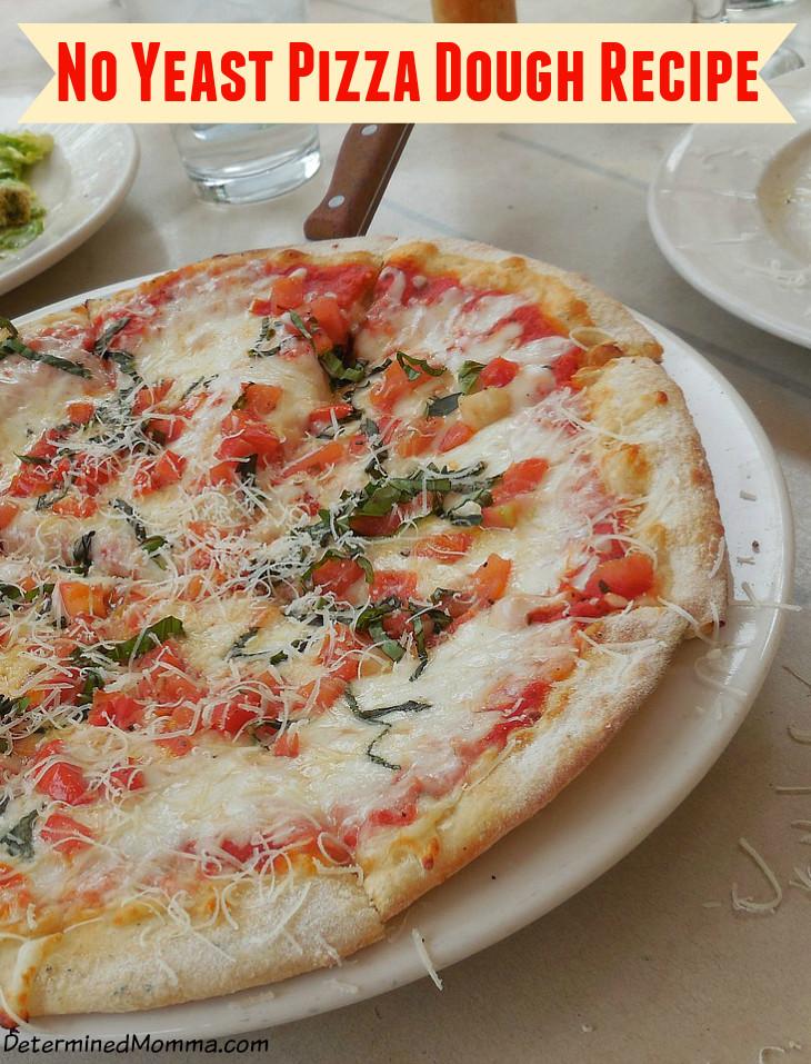 Pizza Dough No Yeast  pizza crust recipe no yeast self rising flour