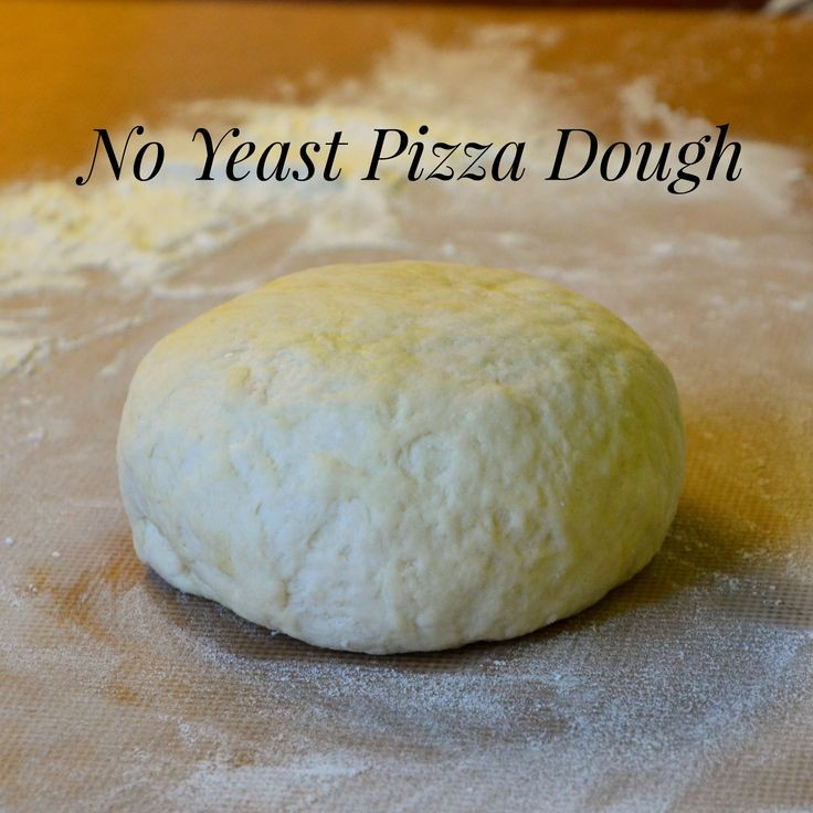 Pizza Dough No Yeast  1000 ideas about No Yeast Pizza Dough on Pinterest